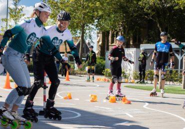 FriesBlond sponsort SKATE4daagse i.s.m. KNSB